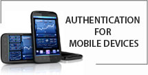 Authentication for mobile devices