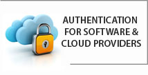 Authentication for software & cloud providers