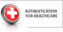 Authentication for healthcare